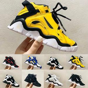 New Kids Barrage Mid Black Sneaker Laser Orange Trainers Cabana Bel-Air White Big Children Boy Girls Classic 90s Silhouette Basketball Shoes