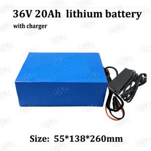18650 batterie Li-ion 36v 20Ah rechargeable au lithium bateria bicyclette électrique cargador 18ah pour 500w 750w + chargeur