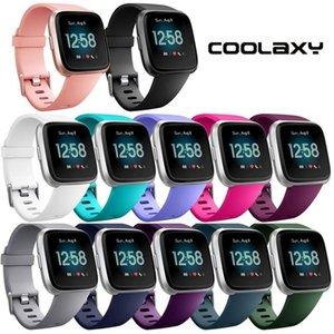 Reemplazo inteligente Accesorios Coolaxy suave de silicona banda para Fitbit / Versa Lite banda reloj de pulsera correa Para Fitbit Versa mujeres pulsera
