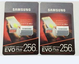 16G 32GB 64GB 128GB 256GB Samsung EVO+ Plus micro sd card U3 smartphone TF card C10 Tablet PC Storage card 95MB S