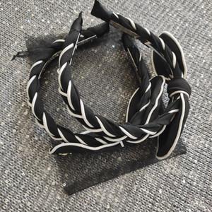 nueva moda de accesorios para el cabello colección venda del bowknot con trenzas c HairBand equipado con tarjeta VIP y bolsas de malla