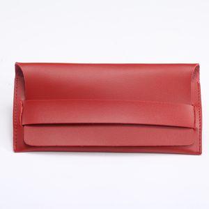 Yeni moda miyopi çanta taşınabilir deri sıkıştırma miyopi güneş uygun gözlük torbayı gözlük