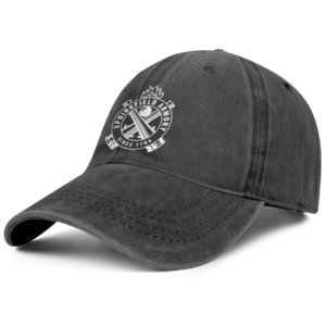 Elegante Springfield Armory Logo Denim Unisex Berretto da baseball Golf Classic Cappelli Simbolo Patch oro bianco