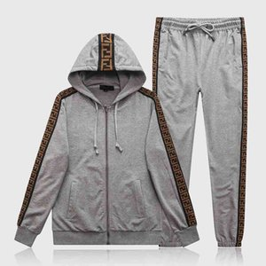 xshfbcl New Mens progettista Tracksuits Fashion Print Men's Jogging Suits Pullover High Quality lusso Two-Piece Set Casual Tracksuit Plus