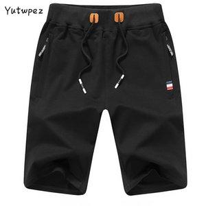 Yutwpez Sólidos Homens Cor Shorts New Summer Fashion Mens Praia Shorts Cotton Casual Masculino roupas de marca