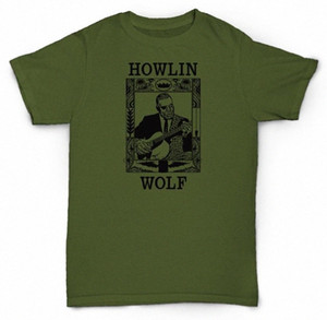 هوولين WOLF T SHIRT DELTA BLUES SOUL JAZZ CHESS zMoS فينيل #