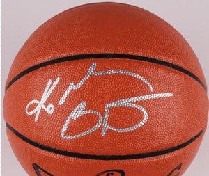 signatured ABD Amerika Kapalı / Açık toplama sprots Basketbol topu İmzalı Bryant Autographed