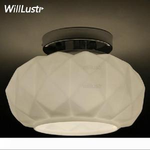 Willlustr Murano Muranodue Leucos lüks tavan lambası beyaz siyah cam elmas yemek odası aydınlatma otel ışık nedeniyle