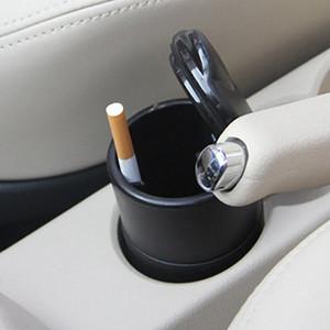 Faible coût vente voiture créatif petit cendrier ignifuge haute flamme PBT avec lampe de couverture voiture intérieur produits cendrier gros DhGr #