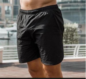 Карманы Шорты Новый Повседневный Running тренировочные брюки конструктора Mens спорта на открытом воздухе Короткие летние мужские Быстрый Сушку Solid Color Zip
