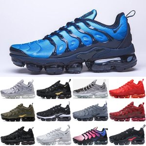 New TN PLUS aurora green White Blue game royal racer blue men women running shoes be true spirit teal mens stylist sneakers