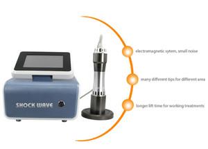 Onde de choc extracorporelle Therapy machine pour Treat Ed Acoustic Shock Wave Therapy Equipment pour traiter la douleur soulagement