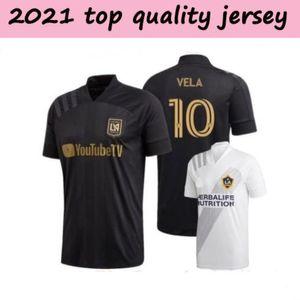 2021 man LAFC Carlos Vela Soccer Jersey 2021 Los Angeles Black LA Galaxy Atlanta United Football jersey Shirts on sales