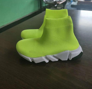 TOP quality Children Baby Kids Shoes Socks Boots Slip-On Casual Flats Speed Trainer Sneakers Boy Girl High-Top Running Shoes Kids Shoes