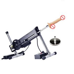 Versione aggiornata estremamente silenzioso Sex Machine automatica con pene dildo regolabile telescopico di velocità femminile Masturbazione Sex Toys per le donne