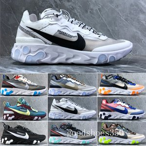 2019 new react element 87 Undercpver x Upcoming men fashion  Designers women shoes running sports sneakers shoes HHE3K