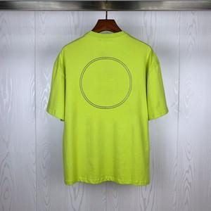 Уличная мода Mens T Shirt 2020 Luminous Жетоны Polos Короткие рукава теннис футболки для мужчин и женщин Пары Стилист высокого качества Джерси Tee