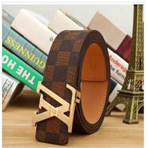 2020 New style WOMEN real leather belt MOSC Genuine leather belt ladies fashion gold Buckle belt