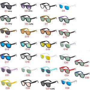 30 الألوان الكلاسيكية النساء الرجال النظارات الشمسية الرياضة في الهواء الطلق لتعليم قيادة السيارات الدراجات النظارات الشمسية إبهار اللون نظارات شمسية الشحن السريع أفضل بيع