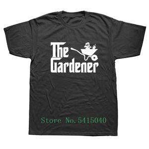 Weelsgao صيف جديد البستاني تي شيرت أزياء الرجال نمط T-Shirt أعلى قصيرة الأكمام