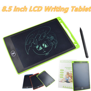 LCD Writing Tablet Digital Digital Portable 8.5 Inch Drawing Tablet Handwriting Pads Electronic Tablet Board for Adults Kids Children MQ25