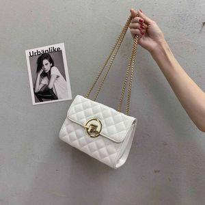 Классическая мода трехмерного тиснения женской сумки письма моды раскладушка золотой замок диагонального мешок с коробкой