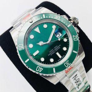 N 3A + de alta qualidade automática espelho safira esporte boca anel de cerâmica mais recente V10 versão eta3135.eta2836 dos homens relógios mecânicos