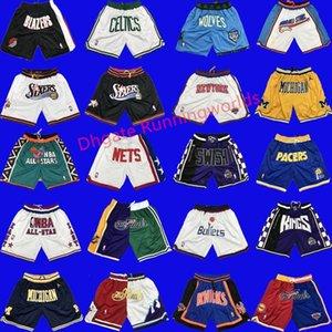 Mens New Sports d'été Juste Respirant Gym entrainement Course à pied Casual Outdoor Basketball Shorts Pantalons avec poches Don Stitched