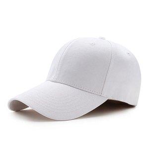 디자이너 모자 2020 야구 모자 남성 여성 일반 곡선 태양 야구 모자 솔리드 컬러 패션 조정 가능한 캡 고품질