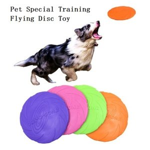 18 cm TPR Pet Special Training Toy Dog Soft Flying Disc Bite-resistant Flying Saucer Dog Interactive Toy Pet Supplies