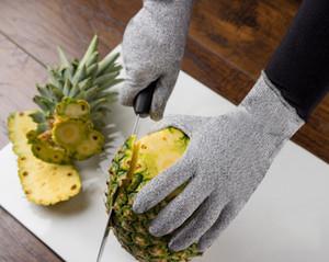 المطبخ معجزة قطع قفاز الطبخ قفازات مقاومة مع CE المستوى 5 حماية المطبخ قفاز حامل قطع، الغذاء الاتصال الآمن العمل قفاز