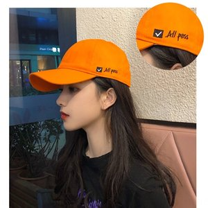 fe Korean male and baseball baseball cap female lovers hip-hop curved eaves Street ins trendsetter cap