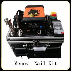 Menovo Electric Titanium Dab Natainium Dab Nays-Sty Rig Giguelle Cire Damping Pid TC Boîte avec chauffe-bobine Domeless Kit Dnail Pad de silicone 0268110