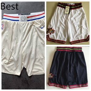 Philadelphia76ersMen Mitchell & Ness Big & Tall HardwoodClassics Swingman Jersey Basketball Shorts Black