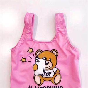 Kleinkind Kinder Badeanzug Nettes Baby-Badebekleidung einteilige Mädchen Bikini-Kind-Sommer-Badeanzug