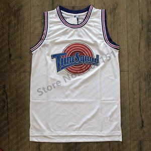 2019 New #1 3 TWEETY #1 TAZ BUGS #2D.DUCK #10 LOLA Looney Toones Tune Squad Space Jam Basketball Jersey Stitched custom any name number