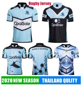 2020 CRONULLA-SUTHERLAND SHARKS Rugby Jersey 2019 Men Indigenous Jersey shirt Rugby League Australia Telstra Jerseys hot sale