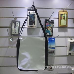 Shoulder Strap Bags Square Organizer Storage Bag Sublimation Blank Canvas Black White Handbags Printing Gift Decorative Fashion 19bf C2