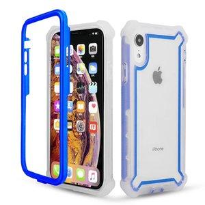 For Samsung Note 20 Pro S20 S10Lite A21 A31 A11 A10 A71 A51 A91 A81 M80S M60S Transparent Color Shockproof Bumper Protection Phone Case