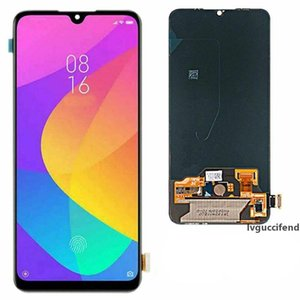 Amoled LCD Display Screen Digitizer For Xiaomi Mi A3 6.09 Inch Screen No Frame Replacement Parts Black