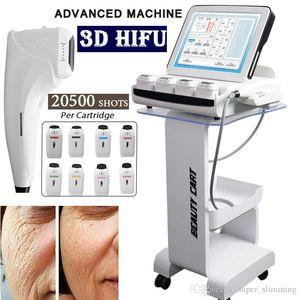 HIFU levantamento de ultra-som frente da máquina Ultherapy 3d profissão HIFU máquina rosto e perda de peso corporal equipamentos de emagrecimento
