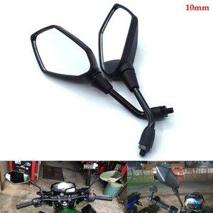Motocicleta, bateria de carro, espelho retrovisor 10 milímetros Por MT-07 / FZ-07 FJ-09 MT-09 / SR / FZ-01/09 FAZER FZ16 XS650 750 XV535 750 mil