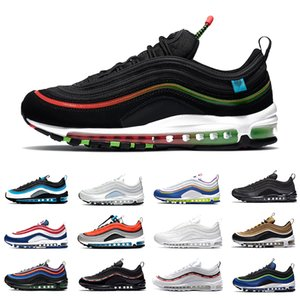 Nike air max 97 airmax Worldwide Black White 97 Mens Running shoes have a nike day Aqua Blue USA Ghost Easter MSCHF x INRI Jesus 97s UNDEFEATED men women sports designer sneakers