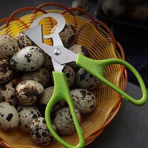 Taube Wachtel Eierschere Edelstahl Vogel Eier Schneideröffner Slicer Küche Hausfrau Werkzeug Clipper Accessoriy Gadget Convenience Ljjp110