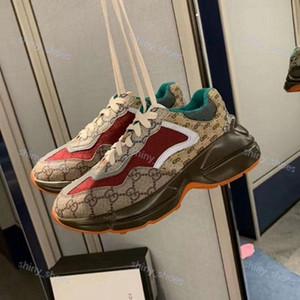 Gucci sports shoes Parigi Moda uomo donne pattini della piattaforma con le scarpe da tennis tessuto riflettente papà collezione scarpe Ultimi cavans corrispondenza scarpe UP