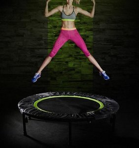 Mini Trampoline Fitness Indoor Trampoline Bungee Rebounder Jumping Cardio Trainer Workout Sports Equipment Foldable Rebounder blfv#