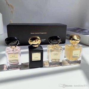 Treibsand Parfum Musk Rose Gardenia Parfüm 30ML * 4 Dauerhafter Duft gut Unbegrenzte Charme Zähler Version Kopierqualität riechen