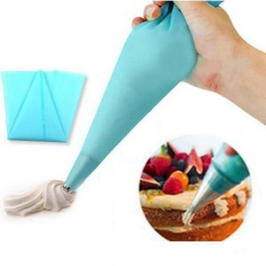 Silicone EVA Pastry Bag DIY Icing Piping Cream Pastry Bag Reusable Kitchen Bake Cake Tool Cake Decorating Tool 3 Sizes Wholesale VT0457