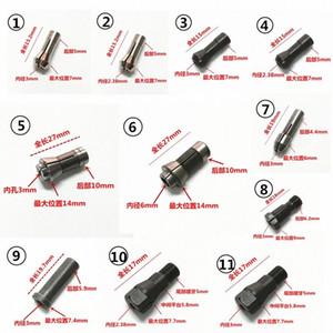 """2,35mm 3 mm 6 mm mandril de 1/4"""" 1/8"""" Collet para Die aire Mini amoladora mueren amoladora neumática molienda de respaldo Piezas Accesorios 6fRn #"""