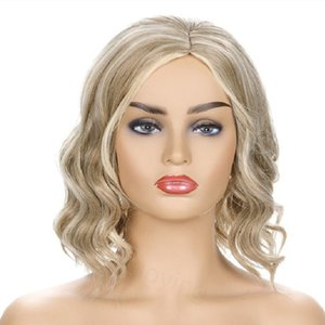 Short Curly Wig for Women Synthetic Glueless Free Part Wig Women Fashion hairstyles Wig Natural As Real Hair